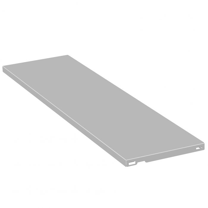 Teräshylly Element System 1 PR Valkoinen 800 x 250 mm