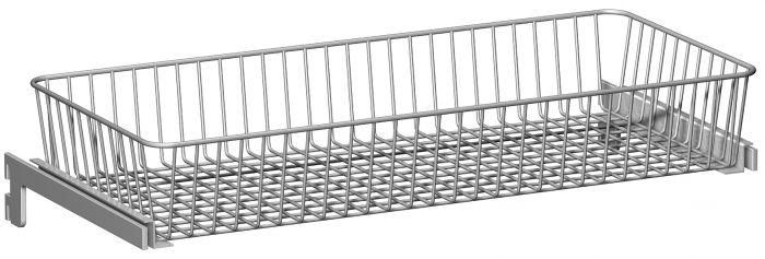 Vetokori Element System Valkoinen Alumiini 80 x 35 cm