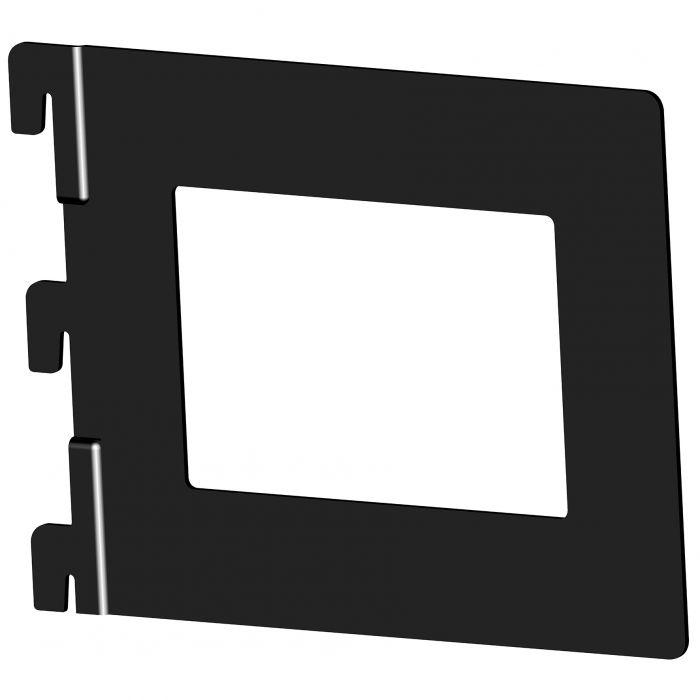 Kirjatuki Element System Musta 118 x 143 mm