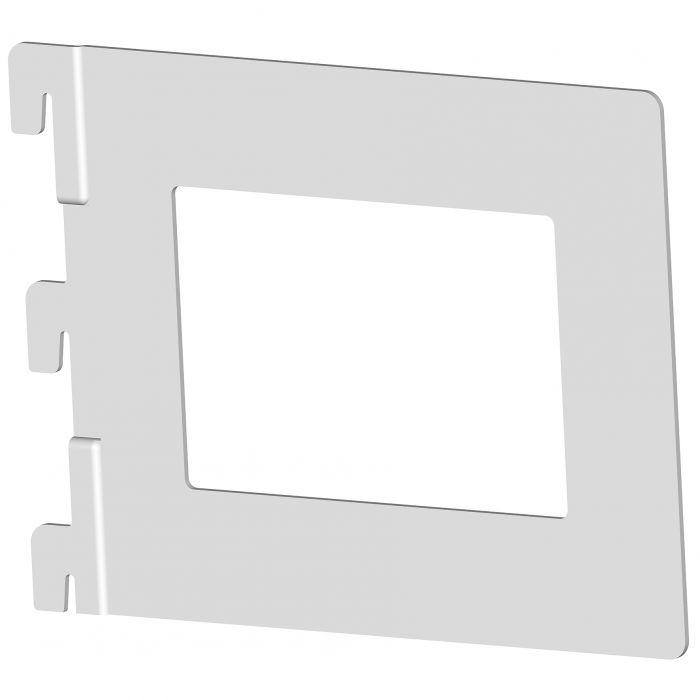 Kirjatuki Element System Harmaa Alumiini 118 x 143 mm