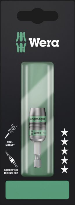 Ruuvauskärjenpidin Wera Rapidaptor 887/4 RR 1/4