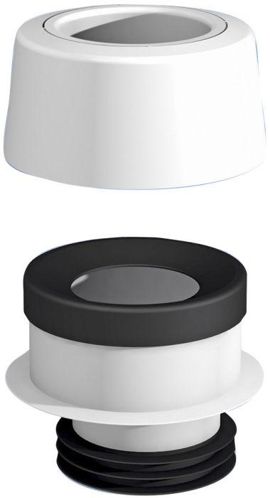 WC-mansetti Prevex 11244 Epäkesko 7 mm
