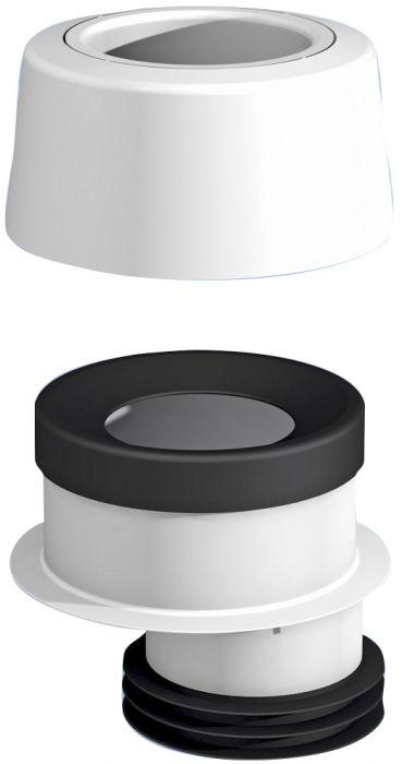 WC-mansetti Prevex 112721 Epäkesko 30 mm