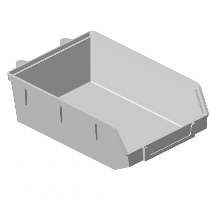 Minibox Element System Valkoinen 90 x 135 x 40 mm