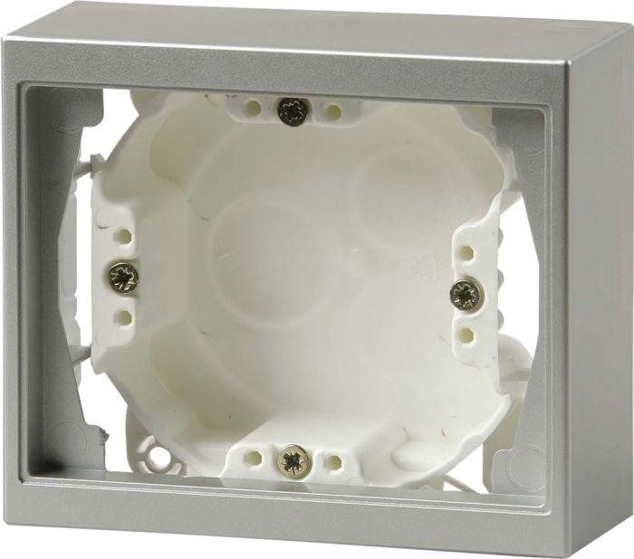 Pinta-asennuskotelo ABB Impressivo Alumiini
