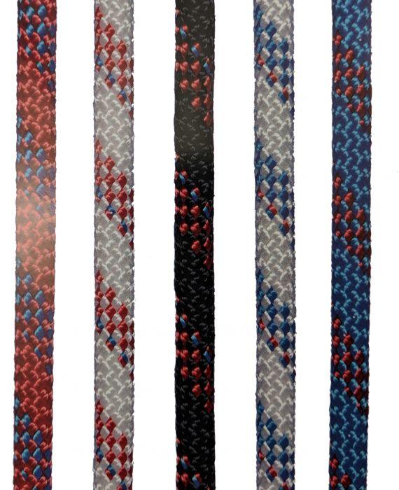 Köysi Seilflechter Dyneema Super 32 Valkoinen/Punainen 8 mm