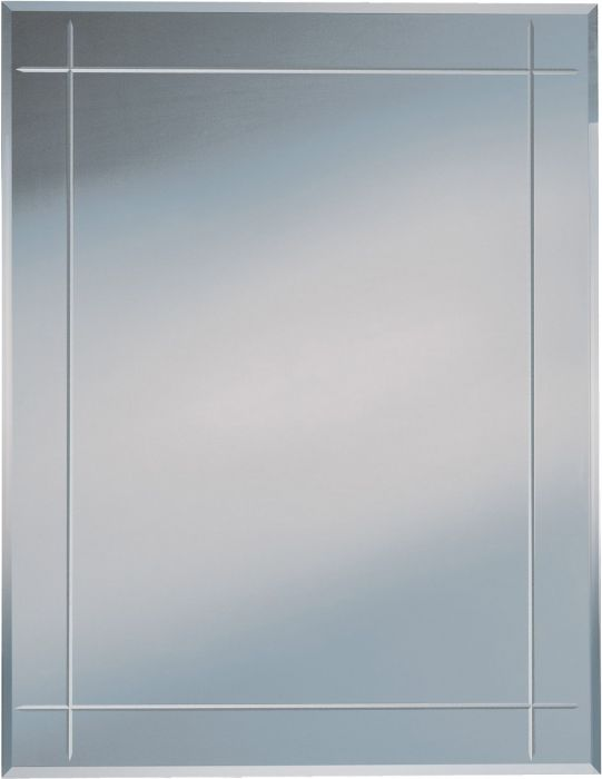 Peili Karo Urahiottu 70 x 90 cm