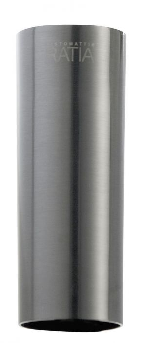 Jatkokappale Grana Gavia Harjattu Mustakromi 6 cm