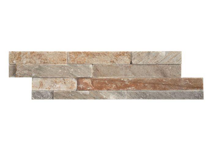Luonnonkivilaatta Brick Beige 10 x 40 cm