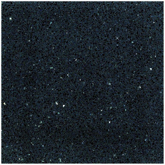 Lattialaatta Starlight Quarz 30 x 30 cm Musta