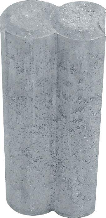 Reunakivi Duopal 6 x 25 x 10 cm Harmaa