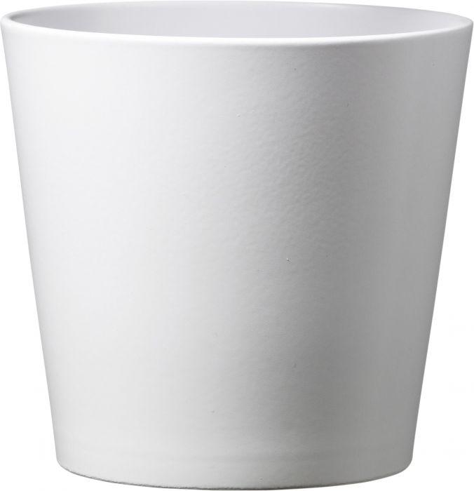 Suojaruukku Dallas matta valkoinen 21 cm