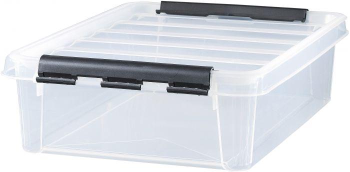 Säilytyslaatikko SmartStore™ 40 x 30 x 12 cm Kirkas