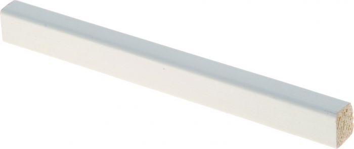 Lasilista Maler 11 x 14 x 2700 mm mänty valkoinen