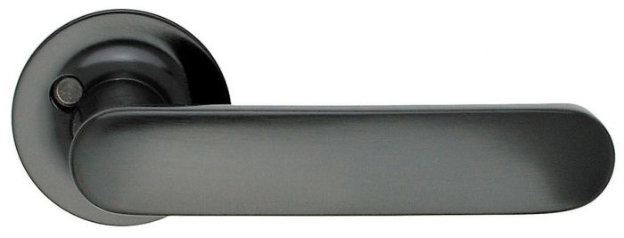 Ulko-ovenpainike Beslagsboden B125 Musta