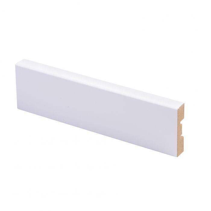 Peitelista Maler 12 x 42 x 2200 mm MDF puhdas valkoinen