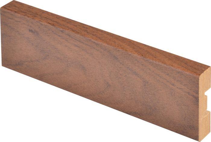 Peitelista Maler 12 x 42 x 2200 mm MDF tumma pähkinä