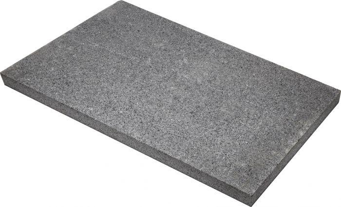 Graniittilaatta Antrasiitti 600 x 400 x 30 mm