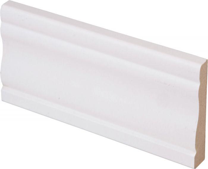 Peitelista Maler Kuru 12 x 58 x 2200 mm MDF valkoinen