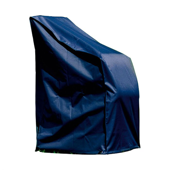 Kalustesuoja pinottaville tuoleille 65 x 65 x 150/110 cm musta