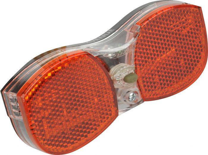 LED-takaheijastin pyörään
