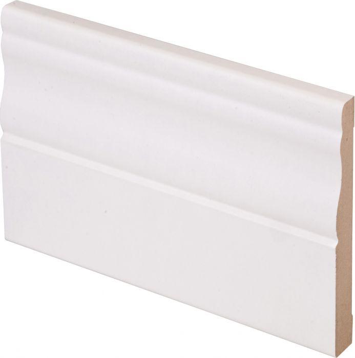Peitelista Maler Kuru 12 x 92 x 2200 mm MDF valkoinen
