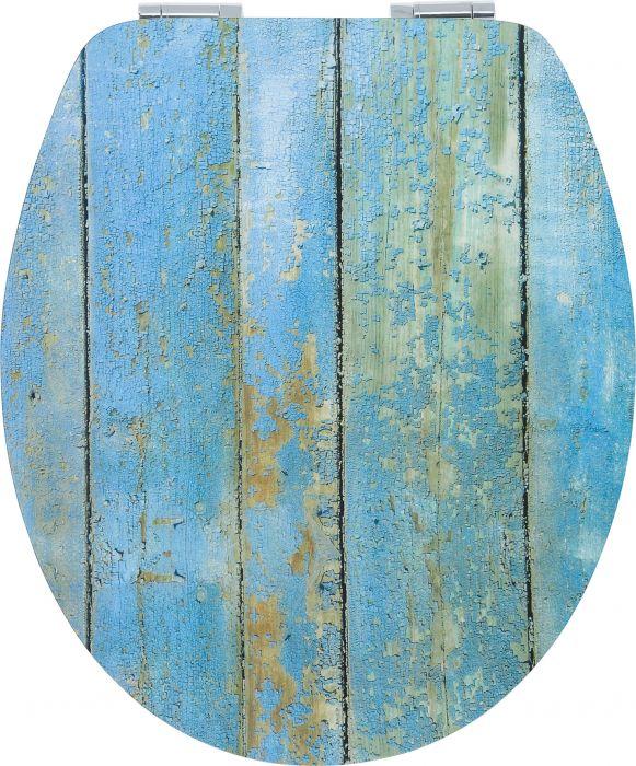 WC-istuinkansi Poseidon Sininen lankku