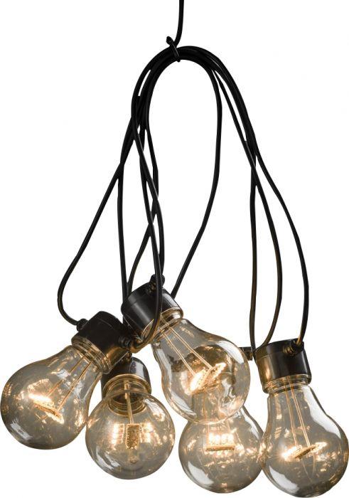 LED-juhlavalosarja Konstsmide Amber
