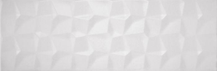Seinälaatta Kimera 20 x 60 cm valkoinen kuvio