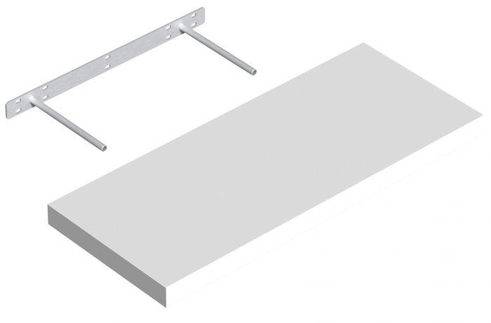 Hylly Regalux XL4 valkoinen korkeakiilto 3,8 x 24 x 60 cm