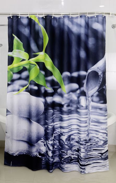 Suihkuverho Venus Zen Garden 180 x 200 cm