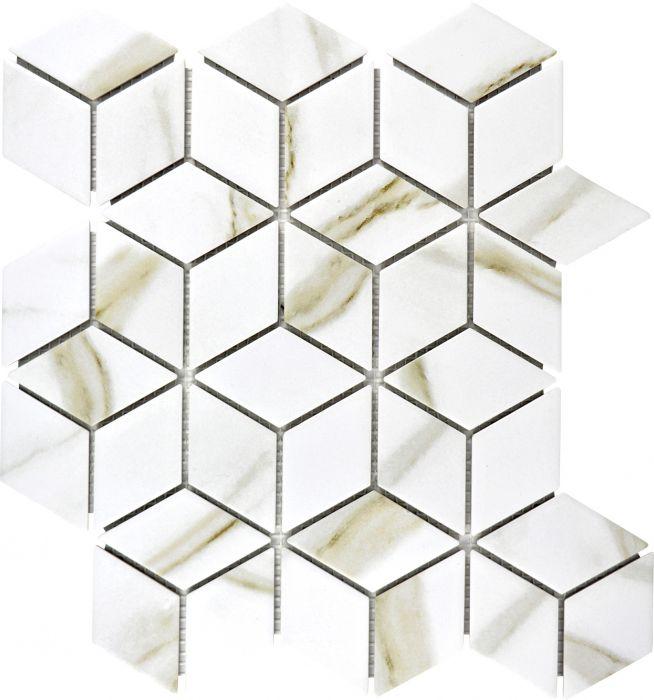 Mosaiikki Diamant Calacatta