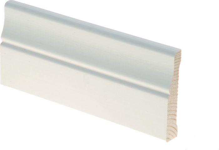 Peitelista Maler Piirto 16 x 70 x 2200 mm mänty sormijatkettu valkoinen