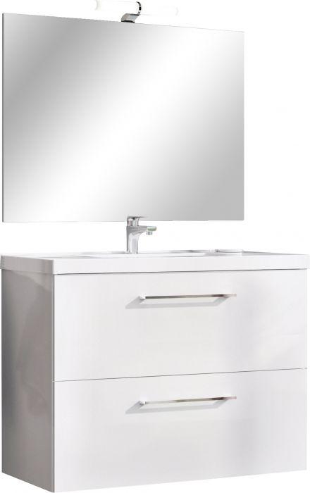 Kalusteryhmä Riva Compact Valkoinen 80 cm