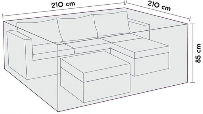 Kalustesuoja Sensum 210 x 210 x 85 cm
