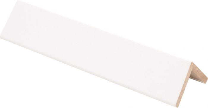Taitelista Maler 4 x 30 x 30 x 2750 mm MDF valkoinen