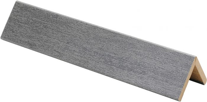 Taitelista Maler ART 4 x 30 x 30 x 2750 mm MDF metalli titaani