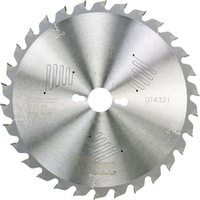 Pyörösahanterä DeWalt Extreme DT4321 250 x 30 mm 30T