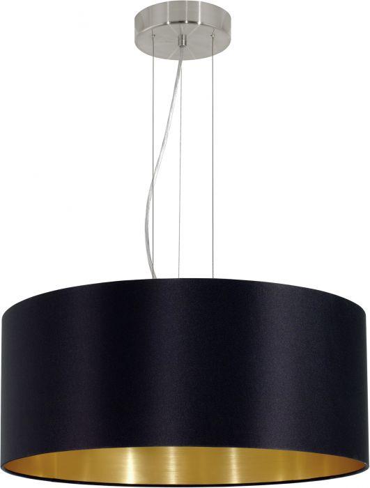 Riippulavaisin Eglo Maserlo Musta Ø 53 cm