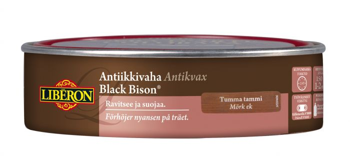 Antiikkivaha Liberon Black Bison Tumma Tammi 150 ml