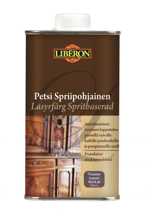 Kuultomaali Liberon Spriipohjainen Tumma Tammi 250 ml