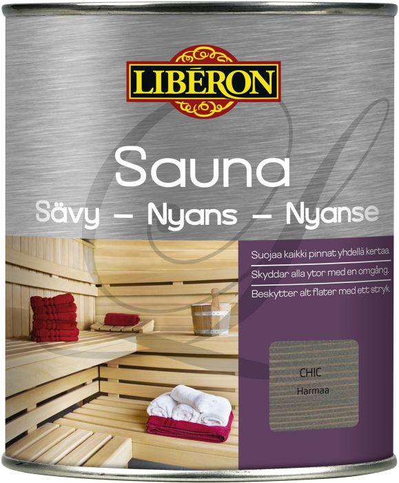 Sauna Sävy Liberon Harmaa 2,5 L