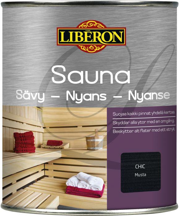 Sauna Sävy Liberon Musta 750 ml
