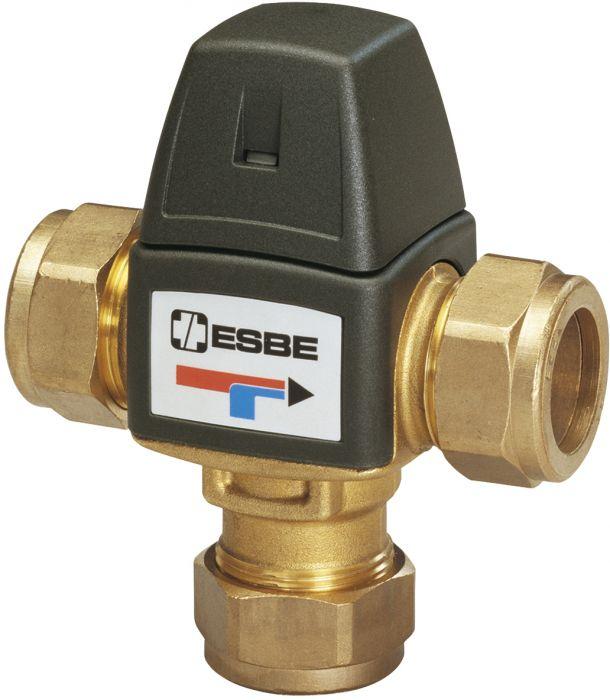 Termostaattinen sekoitusventtiili ESBE VTA323 22 mm-1,5 35-60°C