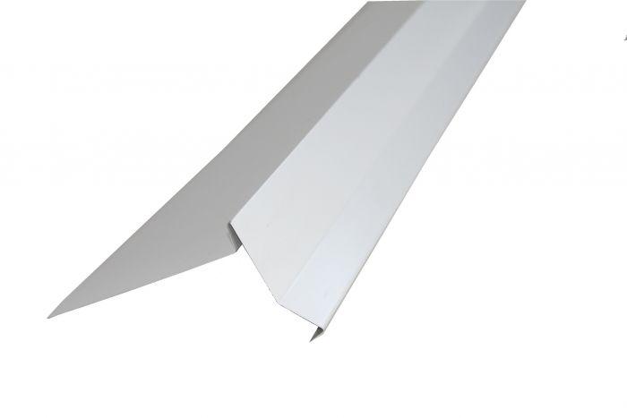 Päätyräystäspelti Icopal 2 m Valkoinen