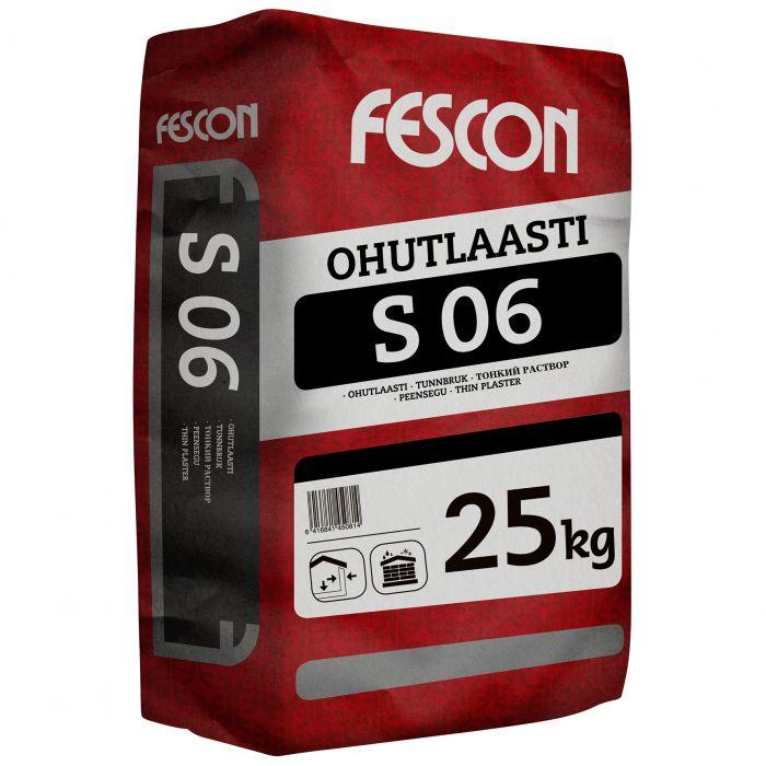 Ohutlaasti Fescon S 06 25 kg