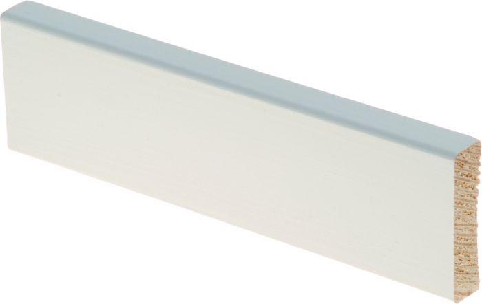 Peitelista Maler 12 x 42 x 2700 mm mänty sormijatkettu valkoinen