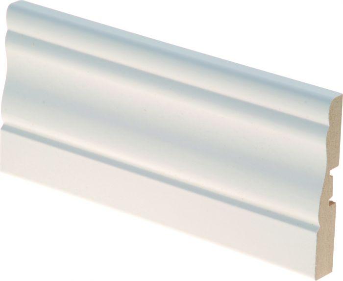 Peitelista Maler Kuru 12 x 70 x 2200 mm MDF valkoinen