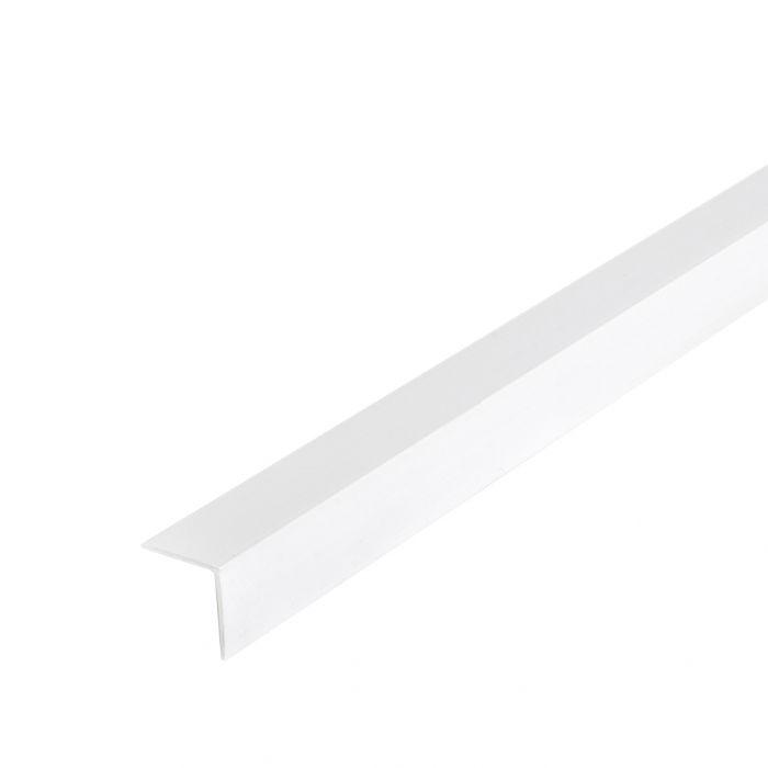 Kulmasuojalista Muovi Dione 15 x 15 mm 270 cm Valkoinen