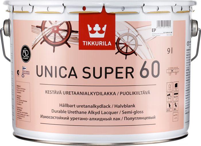 Uretaanialkydilakka Tikkurila Unica Super Puolikiiltävä